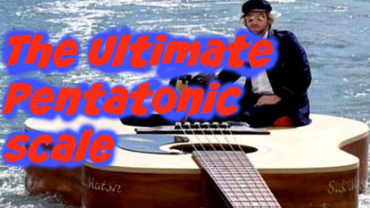 Every Guitarist Must Know Extend Pentatonic Scale Run Bonus Backing