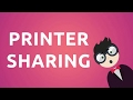 Printer Sharing in Windows