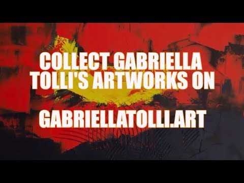 ORIGINAL FINE ART PAINTINGS FOR SALE : Gabriella Tolli Abstract Expressionism
