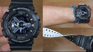 G shock mens analog digital watch ga 110lp 1adr price in dubai uae casio g shock dual tone resin band ga 110lp 1a unboxing fandeluxe Choice Image