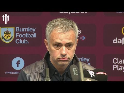 Jose Mourinho: My Crazy Mentality! Burnley 0-2 Manchester United PRESS CONFERENCE