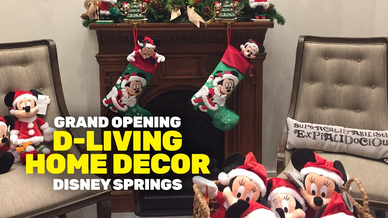D Living Home Decor In Disney Springs