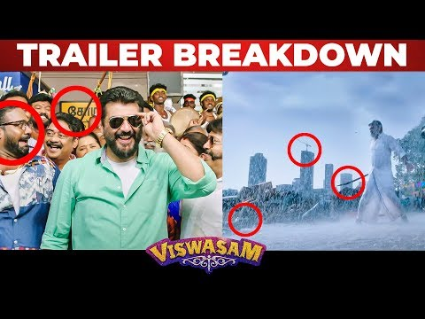 Viswasam - Official Trailer BREAKDOWN | Ajith Kumar | Nayanthara | Siva