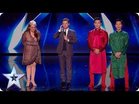Through to our LIVE FINAL - it's Micky P Kerr and Giang Brothers! | Semi-Finals | BGT 2018