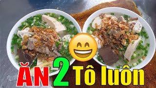 Xem cái chả DÀY CHƯA nè? Bún mọc BÀ HẠT chỉ có 30k |  Guide Saigon Food