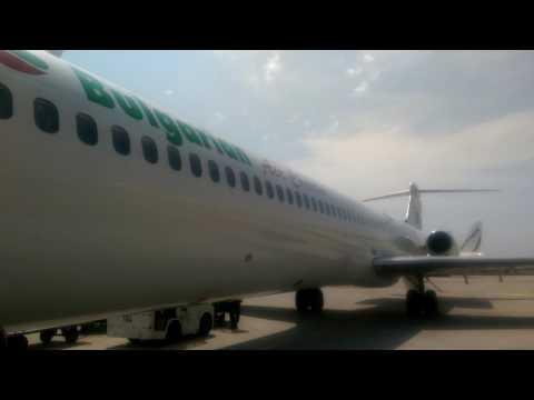 Bulgarian air charter MD82 (LZ-LDN) boarding