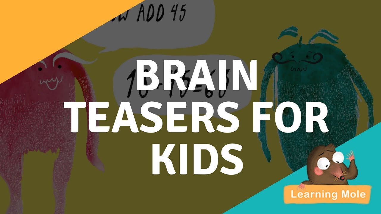 hight resolution of Math Tricks for Kids - Math Brain Teasers for Kids - YouTube