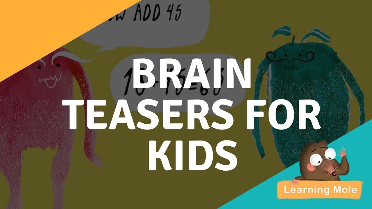 medium resolution of Math Tricks for Kids - Math Brain Teasers for Kids - YouTube