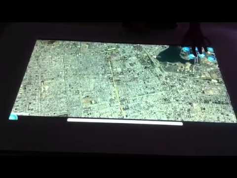 MultiTouch Demo Googl Map App