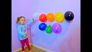 Aprende los Colores en Ingles con Balones de Colores*Learn Colors with Colored Balloons* Kids Video