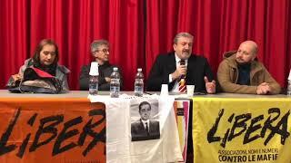 """Emiliano a intitolazione a presidio di """"Libera"""" di Valenzano a Nicola Ruffo"""