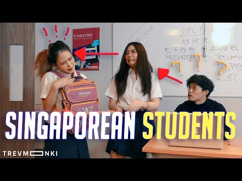 Types of Singaporeans Students: Polytechnic VS Secondary School