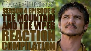 The Mountain and The Viper Reactions Compilation