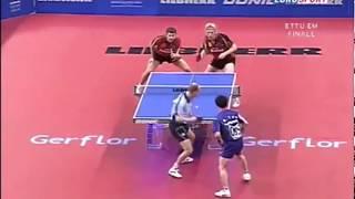 Tan Ruiwu Lucjan Blaszczyk vs Timo Boll Christian Suss (ETTC 2007)