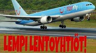 Top5 Lentoyhtiöt!