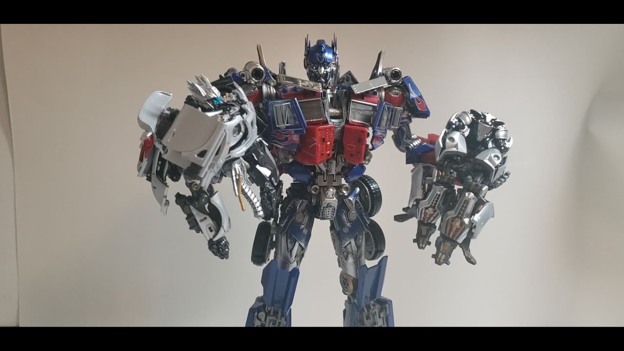 Wei Jiang Black Apple Optimus Prime Upgrade kit and MPM Discussion - YouTube