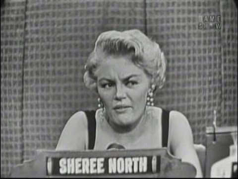 What's My Line?  Jack Paar panel; Sheree North Jul 10, 1955