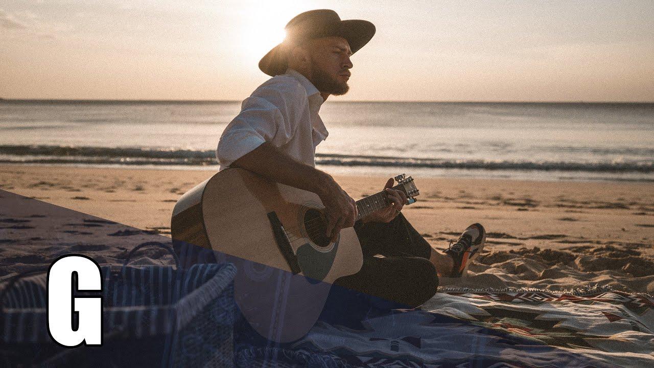 Smiling Acoustic Guitar Backing Track In G Major