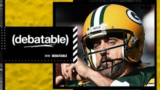 The (debatable) crew reacts to Aaron Rodgers saying 'I own you, and I still own you'   (debatable)