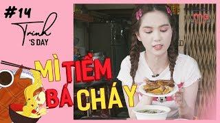 Ngọc Trinh - My Day #14 |  Mì Vịt Tiềm Siêu Ngon Cùng Cô Bé Ăn Hàng