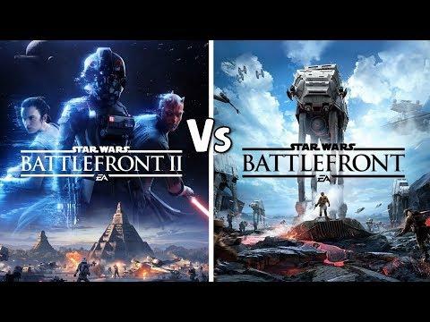 Star Wars Battlefront 2 (2017) Vs Star Wars Battlefront (2015)