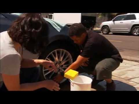 To clean wheels & hubcaps use Dawn Dish Soap - Beyond the Sink
