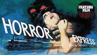 HORROR EXPRESS full movie | Christopher Lee & Telly Savalas | The best classic movies | Horror movie