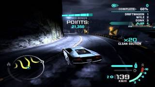 Need For Speed: Carbon - Challenge Series #15 - Canyon Drift (Gold)