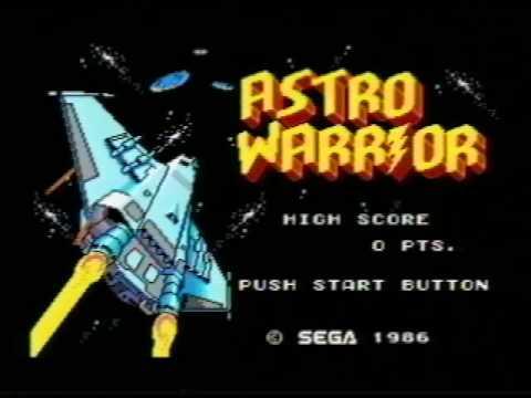 Classic Game Room - ASTRO WARRIOR for Sega Master System ...
