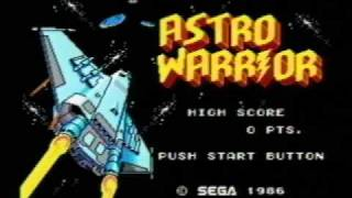 Classic Game Room - ASTRO WARRIOR for Sega Master System