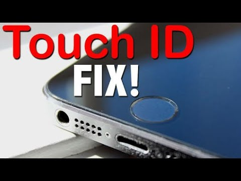 HOW TO FIX TOUCH ID PROBLEMS IOS 10 ?