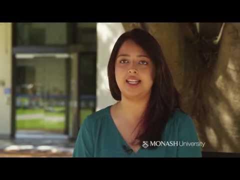 Monash International Merit Scholarship recipient: Zahra