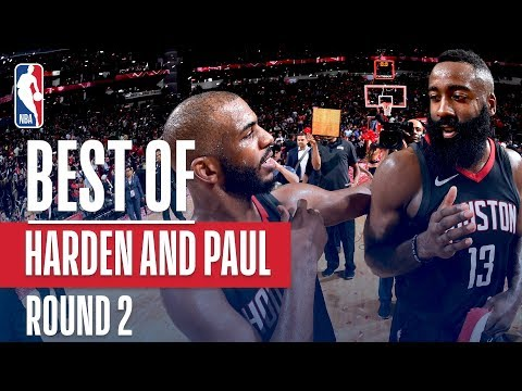 Chris Paul & James Harden Best Plays | 2018 NBA Playoffs | Western Conference Semifinals