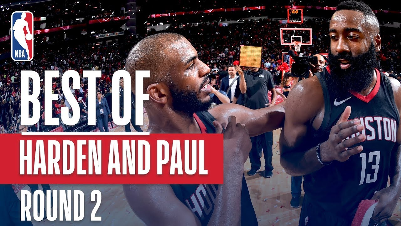 Chris Paul James Harden Best Plays 2018 Nba Playoffs Western Conference Semifinals Youtube