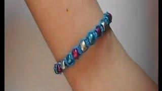 DIY : Beaded hemp bracelet
