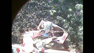 Coast Guard Rescues Three From Bayou Segnette Barge Wreck
