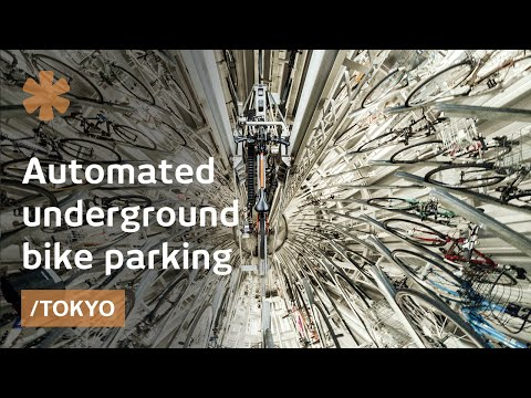 On scaling bike parking space in Tokyo by going underground