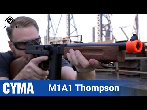 CYMA Thompson M1A1- [The Gun Corner] - Airsoft Evike.com