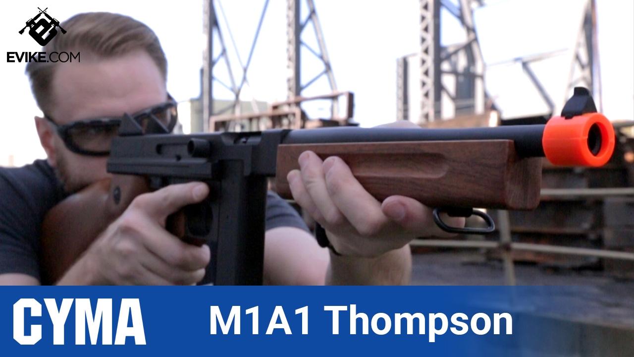 CYMA Thompson M1A1- [The Gun Corner] - Airsoft Evike com