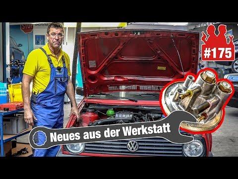'Nachdieseln' beim Golf-II-Oldtimer (31 Jahre!) | SO löst sich der Zahnriemen im EcoBoost-Motor auf
