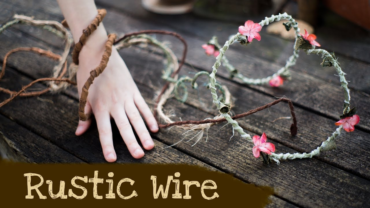How to make Rustic Wire | Woodland Fantasy Home Decor and Party ...