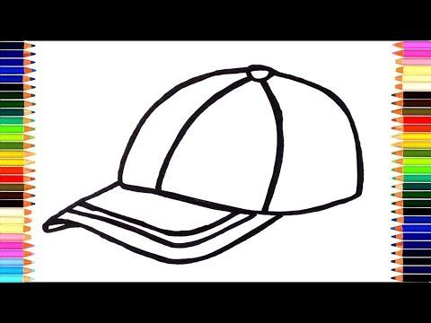 Как нарисовать кепку на голове