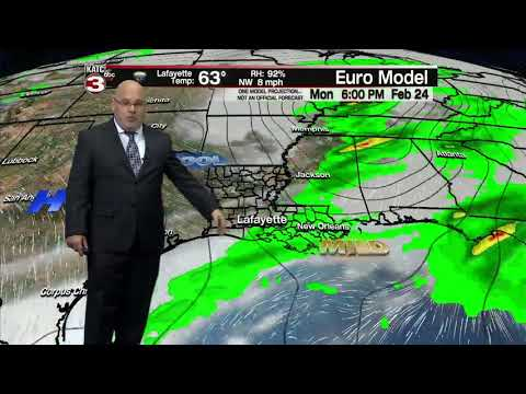ROB'S WEATHER FORECAST PART 2, 6PM 2/19/2020
