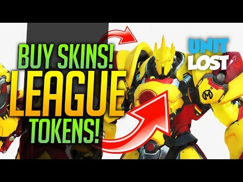 Overwatch News - FREE SKIN! BUYABLE SKINS CONFIRMED! LEAGUE SKIN TOKENS!