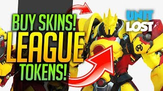 Overwatch News - BUYABLE SKINS CONFIRMED! LEAGUE SKIN TOKENS!
