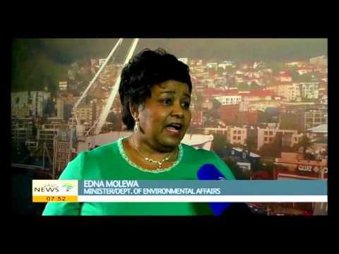 Edna Molewa talks about National Marine Week