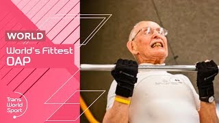 World's Fittest OAP? | 95-year-old Sprinter Charles Eugster | Trans World Sport