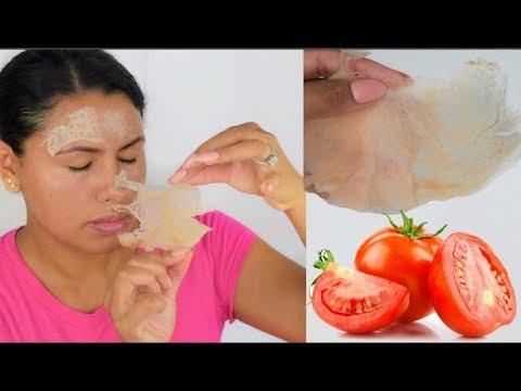 Elimina Tu Vello Facial Permanente Con Tomate . 100% Funciona .fashionbycarol