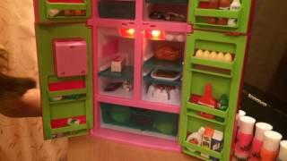 видео Детский игрушечный холодильник