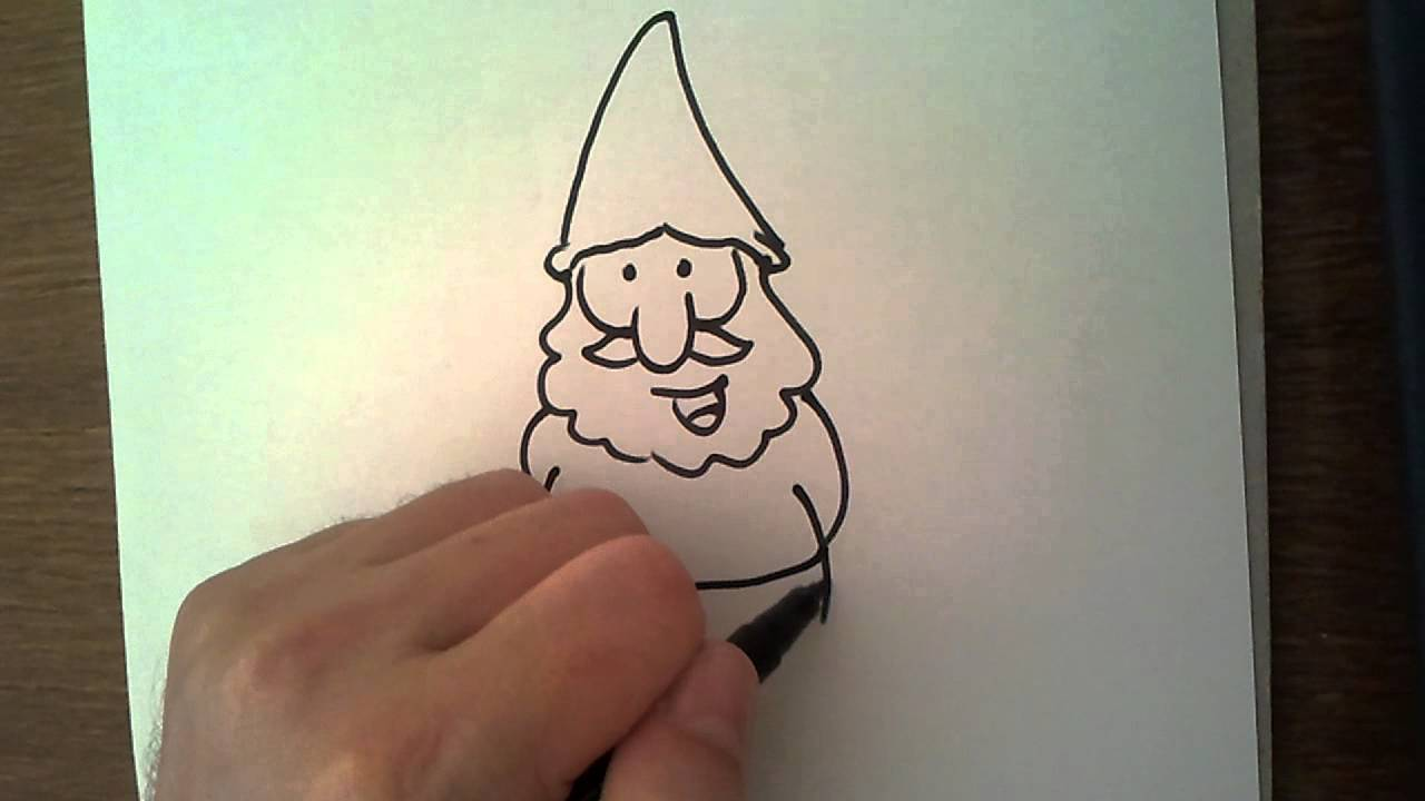Drawing Book How To Draw Gnomes And Dwarves Youtube